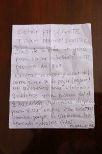 Carta a Santos