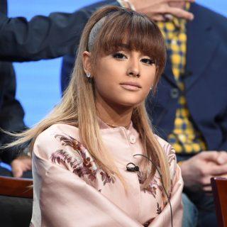 IMAGEN DE ARCHIVO: Ariana Grande en una conferencia de prensa en Beverly Hills, California, Estados Unidos.