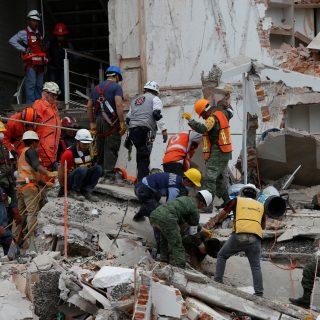 México padeció un terremoto de magnitud 7,1. Foto: Reuters