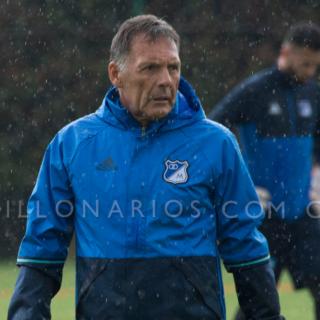 Miguel Ángel Russo / Técnico de Millonarios. Foto: Millonarios FC.