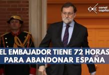 """Embajador de Venezuela en España es declarado persona """"non grata"""""""