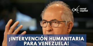 Ledezma pide intervención humanitaria en Venezuela