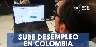 sube desempleo colombia
