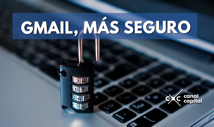 Aumente seguridad de gmail