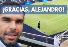 Alejandro Falla se despide del tenis