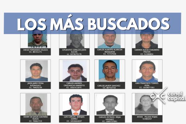 los más buscados en Bogotá