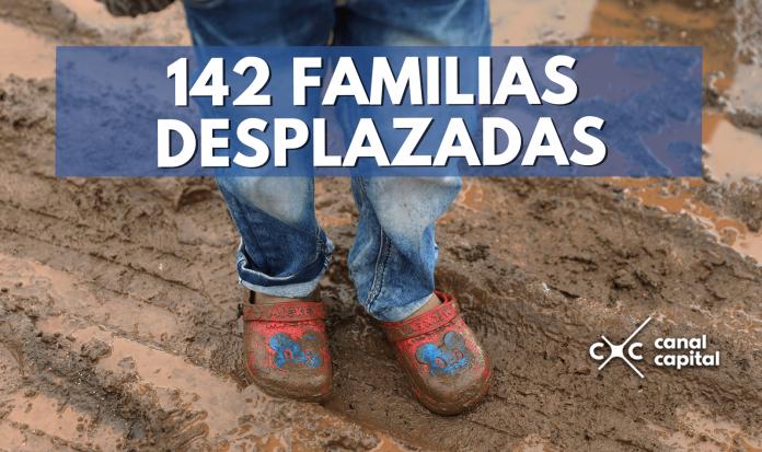 Familias desplazadas Colombia