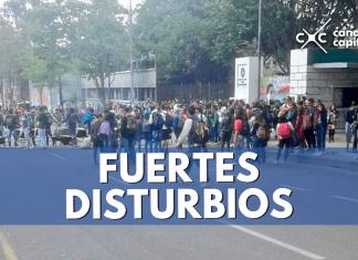 disturbios Universidad Pedagógica