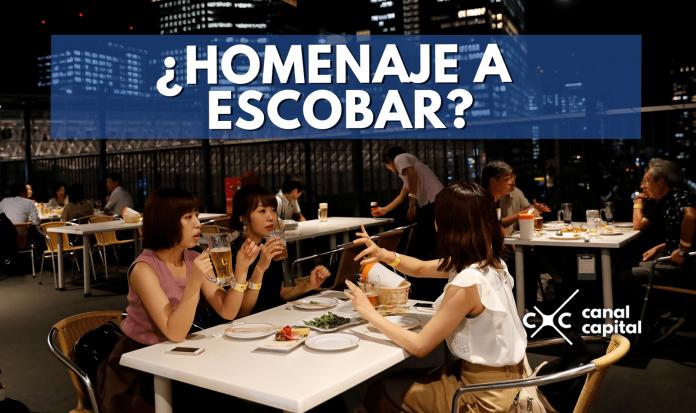 restaurante Pablo Escobar