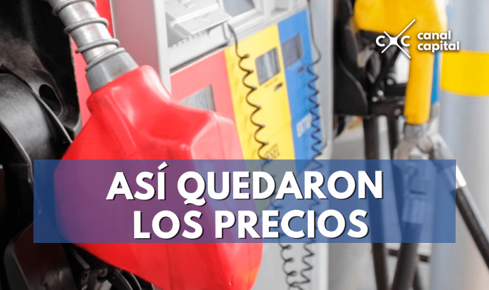 Suben precios gasolina