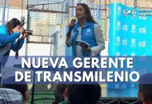 nueva gerente TransMilenio