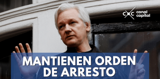 orden de arresto Julian Assange