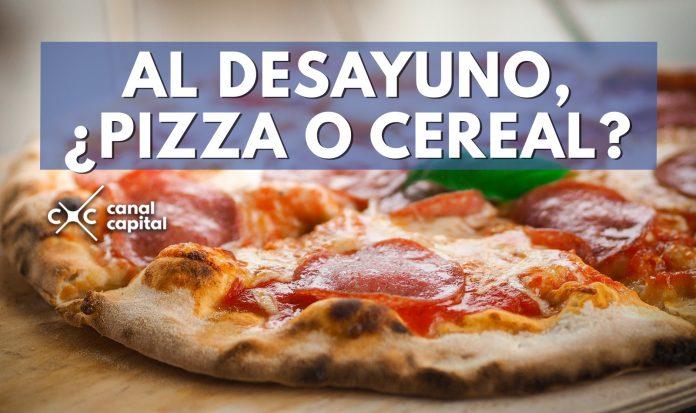 pizza más saludable que cereal