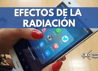 radiación de celulares