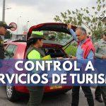 control a servicios de turismo