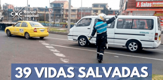 vidas salvada en tránsito