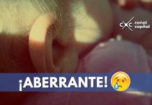 bebé abandonado en la localidad de Usme