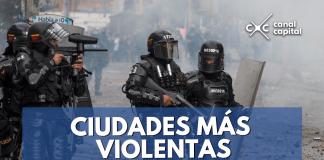 ciudades más violentas