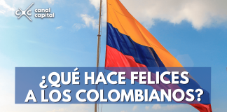 colombianos felices
