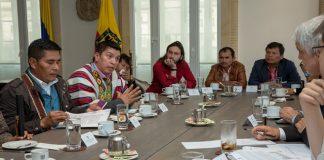 Indigeneas en Bogotá