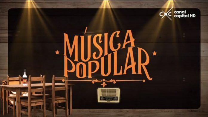 La música popular- La escena
