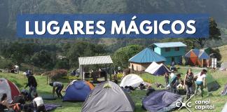 Lugares mágicos para acampar