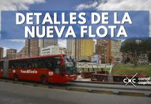 Detalles de la nueva flota de TransMilenio