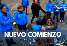 Los ángeles azules realizan una nueva toma en el caño Comuneros