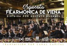 Gustavo Dudamel la Orquesta Filarmónica de Viena visita el Teatro Mayor