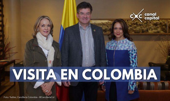 Presidente de la Asamblea General de la ONU visita Colombia