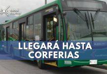 La ruta especial llegará hasta Corferias