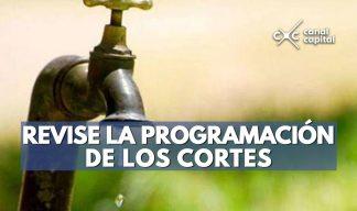 Los cortes de agua se realizarán en Usaquén
