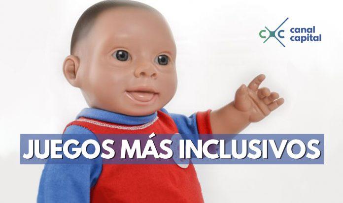 Nuevo muñeco con rasgos de síndrome de down