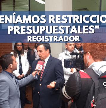 Juan Carlos Galindo rueda de prensa