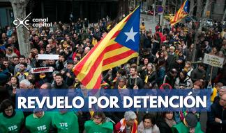 revuelo por detención del expresidente de Cataluña