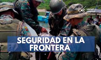 Colombia y Ecuador intensifican seguridad en la frontera