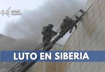al menos 64 muertos por incendio en centro comercial de siberia