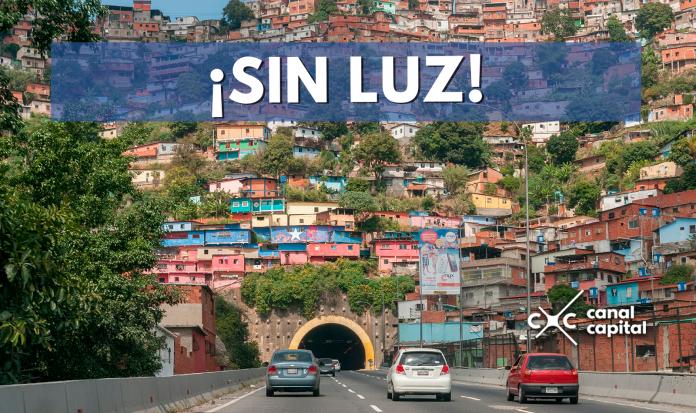 Varias ciudades de Venezuela están sin luz
