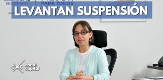 Levantan suspensión directora de la UAESP