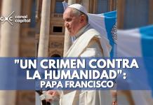 Papa Francisco sobre la prostitución