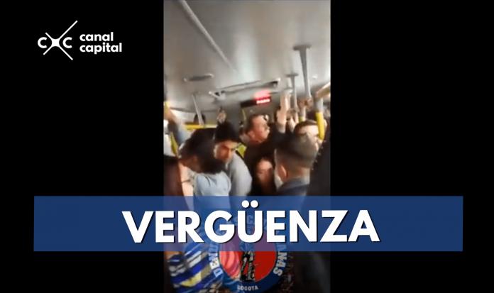 acosador en TransMilenio