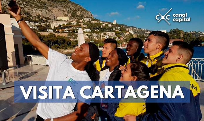 El deportista visitará la ciudad de Cartagena.