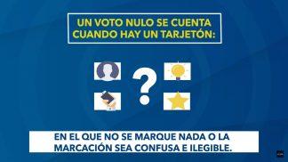 Voto Informado- Voto Nulo