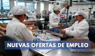 Ofertas de empleo para operarios de producción