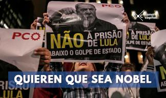 Quien que Lula sea Nobel de Paz