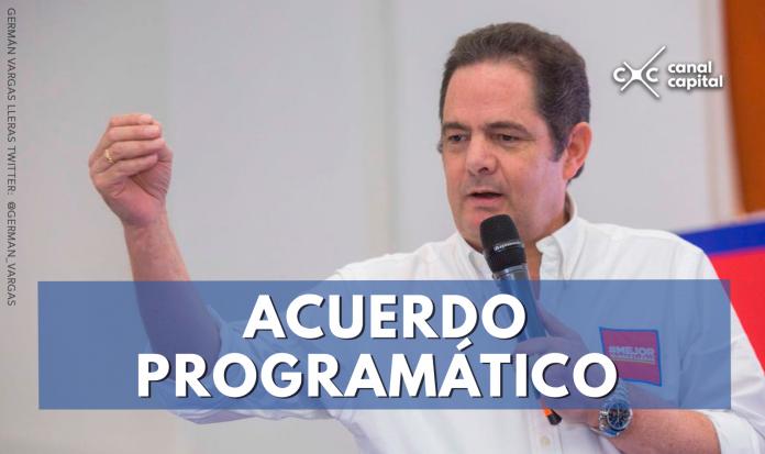 Acuerdo programático Partido de la U y Vargas Lleras