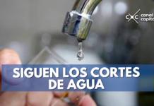 cortes de agua en varios barrios de la ciudad