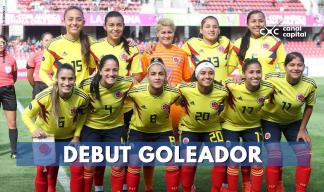 Selección Colombia Femenina goleó en la Copa América de Chile