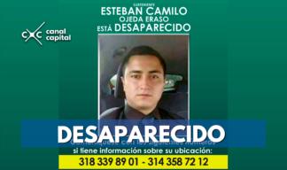 Policía desaparecido