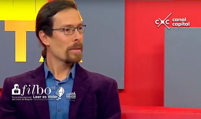 Fernando Plested, escritor y autor de la primera novela 'Crononauta de la Luz galaxy sentinels'
